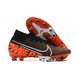 Nike Mercurial Superfly 7 Elite AG-PRO Svart Orange