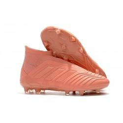 Adidas Fotbollsskor för Män Predator 18+ FG - Rosa
