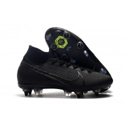 Nike Mercurial Superfly VII Elite SG-PRO Anti Clog Svart
