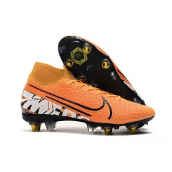 Nike Mercurial Superfly VII Elite SG-PRO Anti Clog Orange Vit