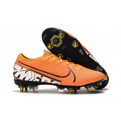 Nike Mercurial Vapor XIII Elite SG-PRO Anti-Clog Orange Vit