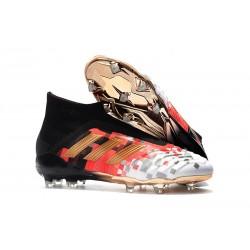 Adidas Fotbollsskor för Män Predator 18+ FG - Telstar Guld Röd