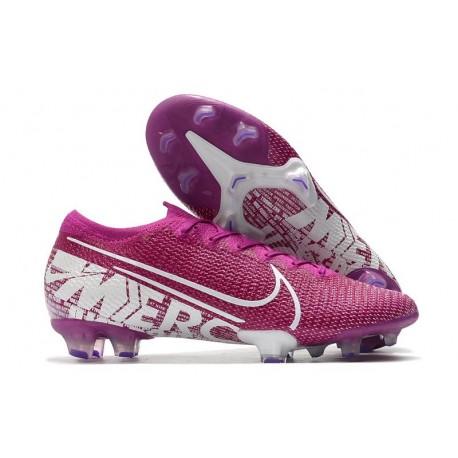 Fotbollsskor Nike Mercurial Vapor 13 Elite FG Lila Vit