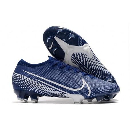 Fotbollsskor Nike Mercurial Vapor 13 Elite FG Blå Vit