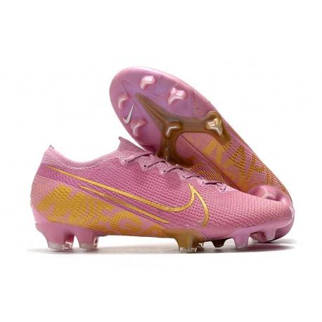Fotbollsskor Nike Mercurial Vapor 13 Elite FG Rosa Guld