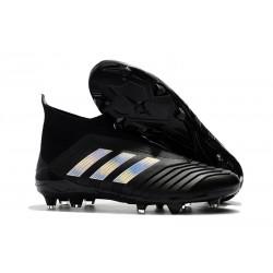 Adidas Fotbollsskor för Män Predator 18+ FG - Svart Silver