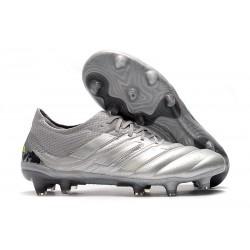 Fotbollsskor för Herrar adidas Copa 20.1 FG Encryption - Silver/Gul