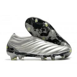 adidas Copa 20+ FG fotbollsskor Silver Gul