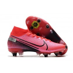 Nike Mercurial Superfly VII Elite SG-PRO Anti Clog Future Lab - Rosa Svart