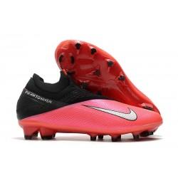 Nike Fotbollsskor 2020 Phantom Vision II Elite DF FG Röd Svart Silver