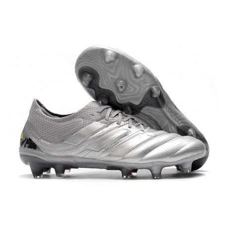 Fotbollsskor för Män adidas Copa 19.1 FG -Grå Silver
