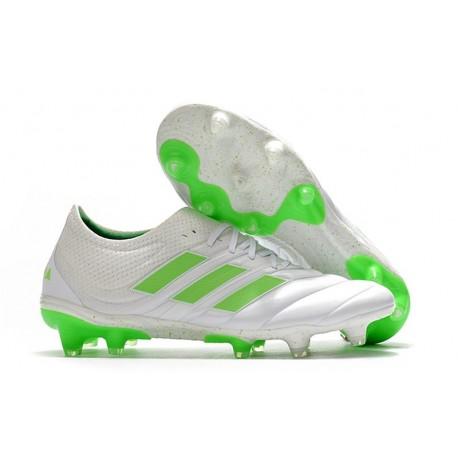 Fotbollsskor för Män adidas Copa 19.1 FG -Vit Grön