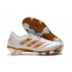 Fotbollsskor för Män adidas Copa 19.1 FG -Vit Guld