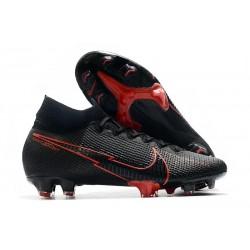 Fotbollsskor Nike Mercurial Superfly VII Elite FG ACC Svart Röd
