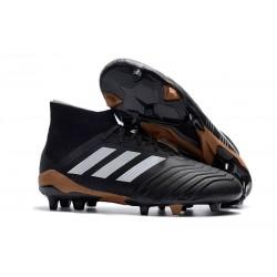 adidas Predator 18.1 FG Fotbollsskor för Män - Svart Vit