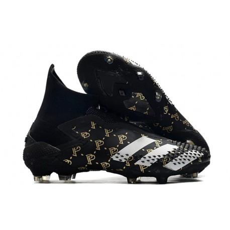 Paul Pogba adidas Predator mutator 20+ FG Fotbollsskor Svart Grå