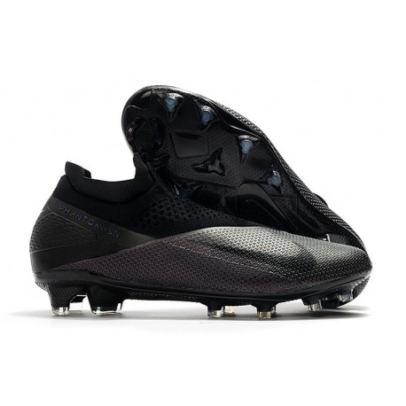 Nike Fotbollsskor Phantom Vision II Elite DF FG Kinetic Black - Svart
