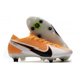 Nike Mercurial Vapor 13 Elite SG AC Daybreak - Orange Svart Vit
