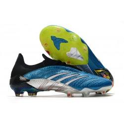 Fotbollsskor för Män adidas Predator Archive FG Blå Vit Röd