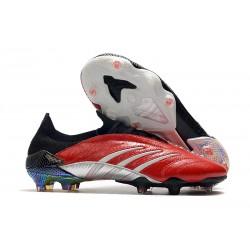 Fotbollsskor för Män adidas Predator Archive FG Röd Svart Silver