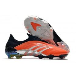 Fotbollsskor för Män adidas Predator Archive FG Orange Svart Silver