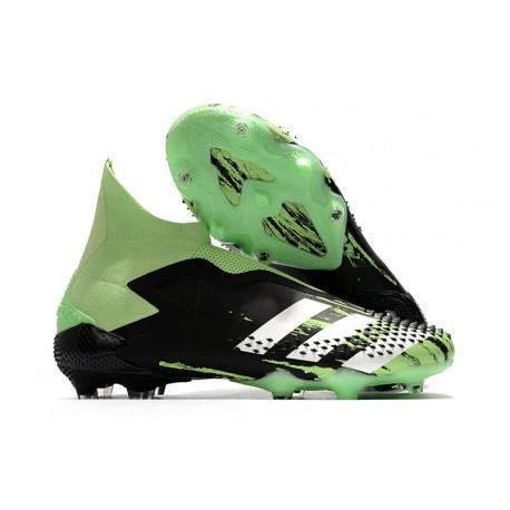 Fotbollsskor för Män adidas Predator Mutator 20+ FG Grön Svart Vit