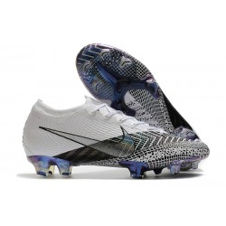 Fotbollsskor Nike Mercurial Vapor 13 Elite FG Dream Speed 3 -Vit Svart