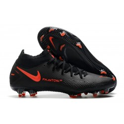 Fotbollsskor för Herrar Nike Phantom GT Elite DF FG Svart Röd Grå