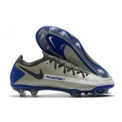 Fotbollsskor för Män Nike Phantom GT Elite FG - Blå Grå Svart