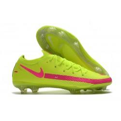 Fotbollsskor för Män Nike Phantom GT Elite FG - Grön Rosa