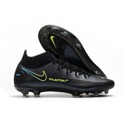 Fotbollsskor för Herrar Nike Phantom GT Elite DF FG Svart
