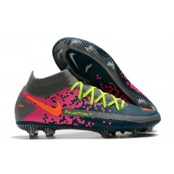 Nike Phantom GT Elite Dynamic Fit FG Blå Grå Rosa