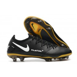 Nike Fotbollsskor 2021 Phantom GT Elite Tech Craft FG - Svart Vit