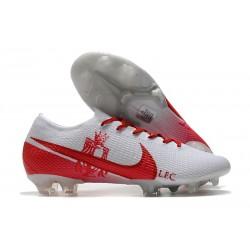 Fotbollsskor Nike Mercurial Vapor 13 Elite FG LFC Vit Röd