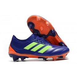 Fotbollsskor för Män adidas Copa 19.1 FG - Lila Grön Orange