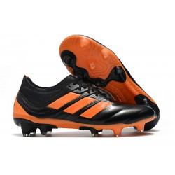 Fotbollsskor för Män adidas Copa 19.1 FG - Orange Svart
