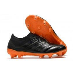 Fotbollsskor för Män adidas Copa 19.1 FG - Svart Orange