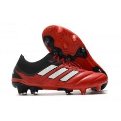 Fotbollsskor för Herrar adidas Copa 20.1 FG Röd Svart Vit
