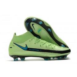Nike Phantom GT Elite Dynamic Fit FG Impulse - Grön Blå
