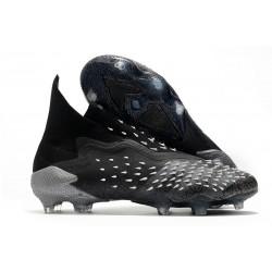 adidas Predator Freak + FG/ AG Superstealth - Svart Grå Vit