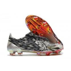 Fotbollsskor för Herrar adidas X Ghosted + FG Svart Vit Silver